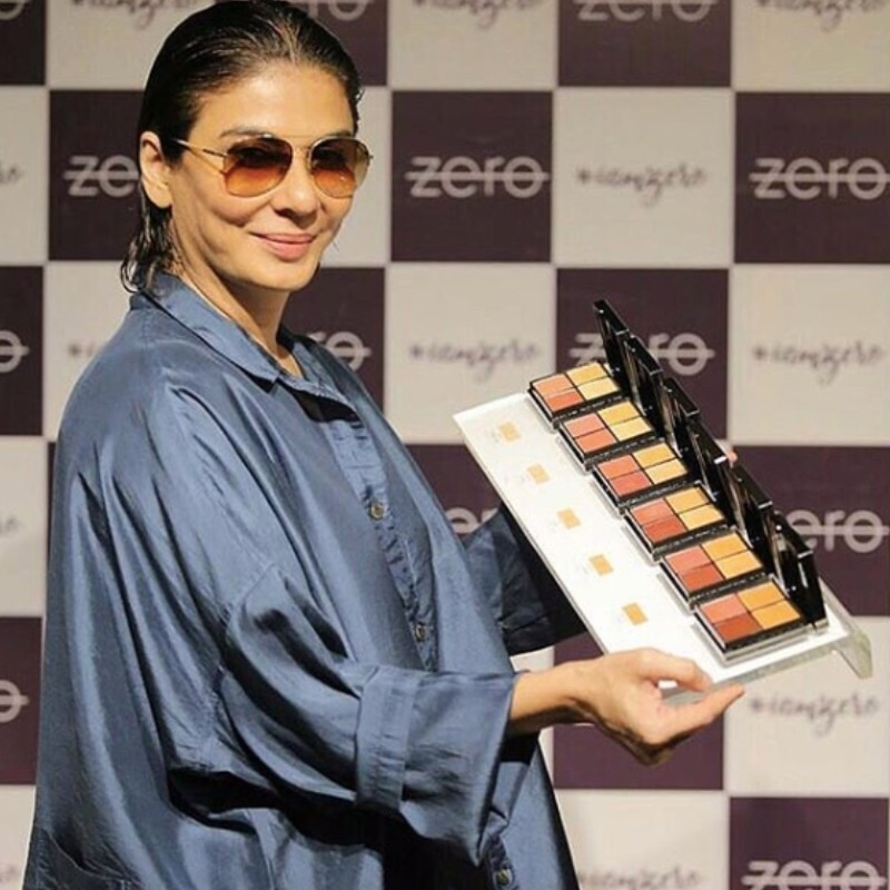 With this product, I also want to subliminally encourage women to be comfortable in their own skins,' said Nabila about the Zero Makeup palette in an earlier interview