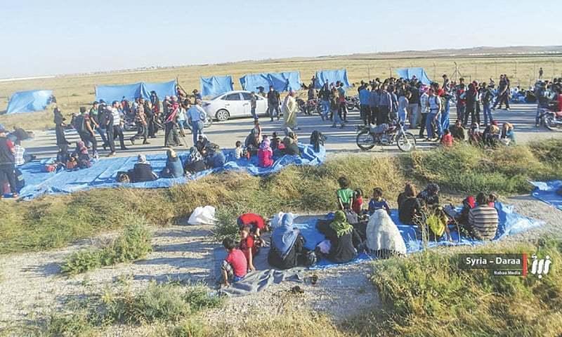 Syria-Jordan border — Photo/File