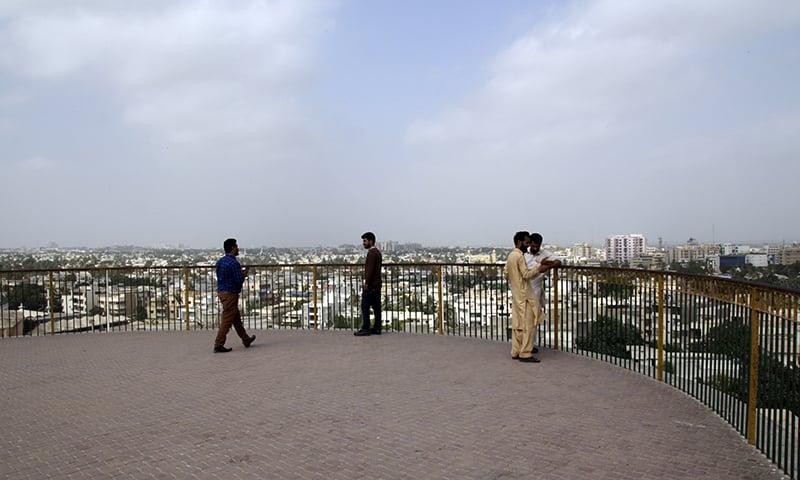 ہل پارک کراچی 2018ء میں—تصویر عبیداللہ کیہر