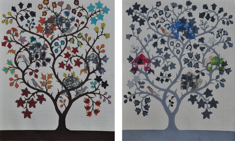 Tree of Life II, Nida Bangash