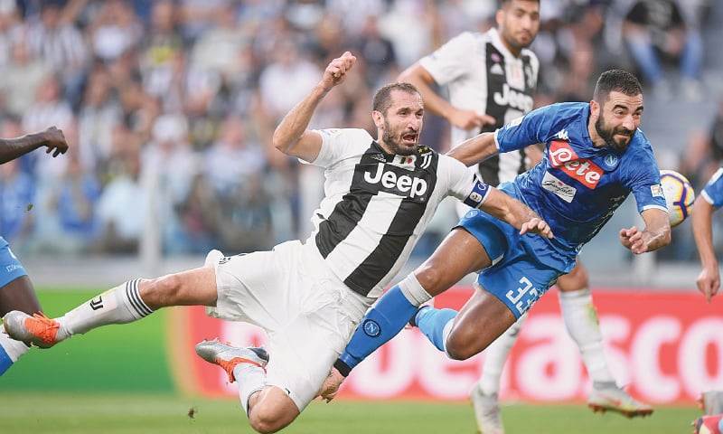 'Extraordinary' Ronaldo sets up all three goals as perfect Juve beat Napoli
