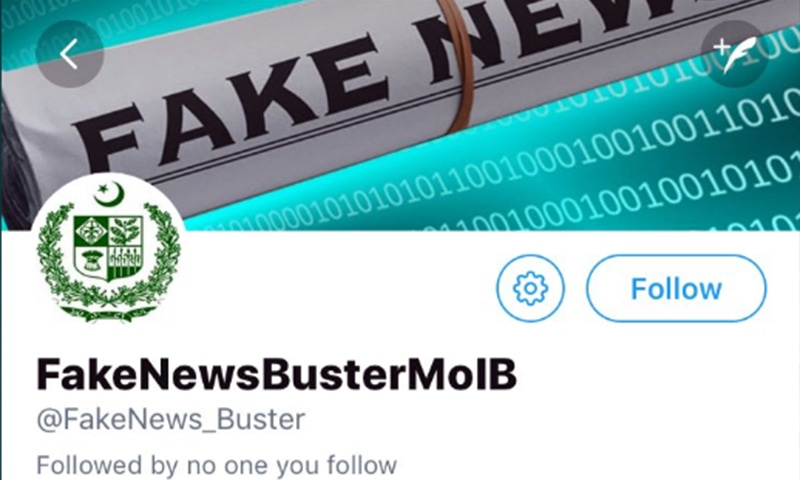 Govt launches 'Fake News Buster' account to expose false reports