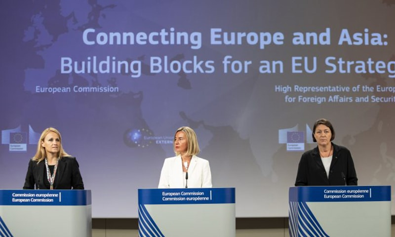 یورپی یونین کے رکن ممالک نئی ایشین کنیکٹیوٹی اسٹریٹجی پر اگلے ماہ دستخط کریں گے
