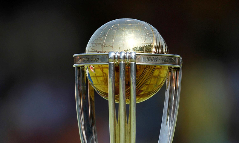 Cricket World Cup trophy to go on display in Lahore tomorrow
