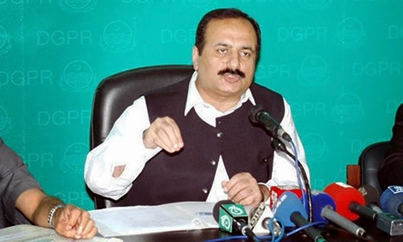 PML-N's Mashood addresses a press conference. — File