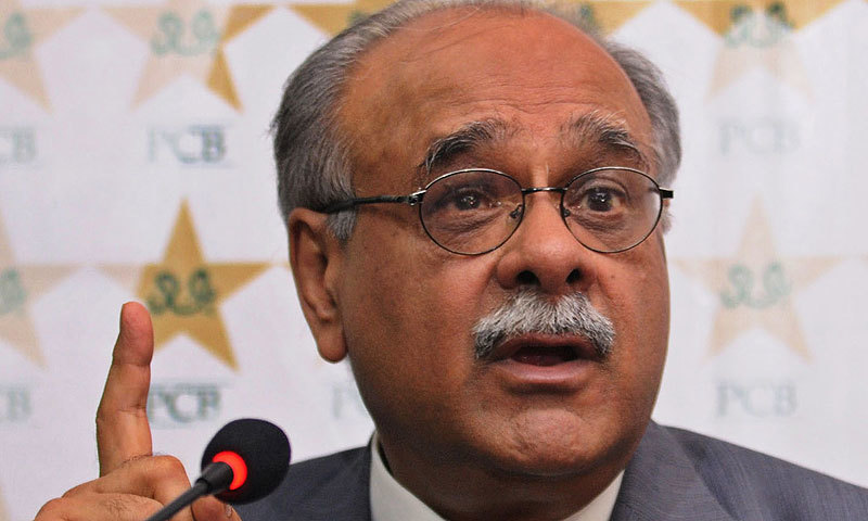 This file photo shows former PCB chairman Najam Sethi.