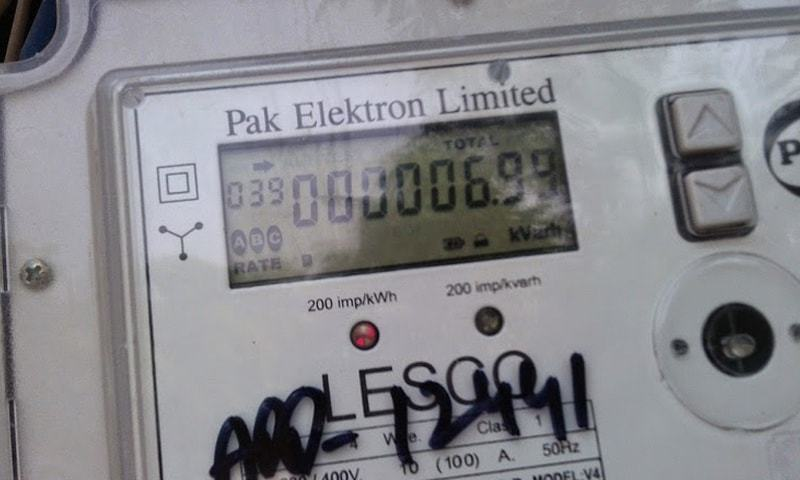 An electricity meter. ─ File