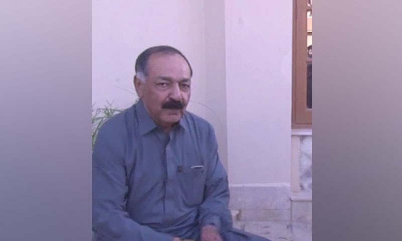 Retired justice Amanullah Khan Yasinzai — <em>DawnNewsTV</em>
