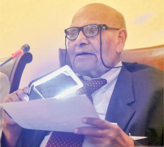 Lifetime achievement award conferred on Prof Sharif Al Mujahid