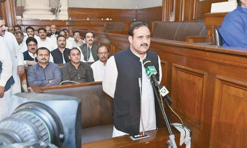 Punjab Chief Minister Usman Buzdar. — White Star/File