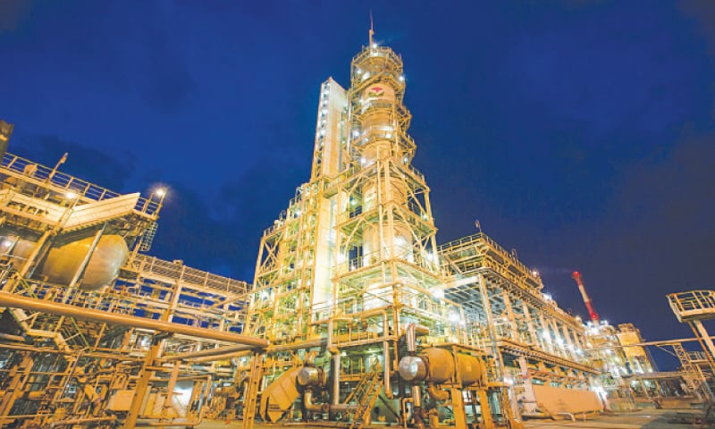 Sulphuric acid alkylation and sulphuric acid regeneration  facilities operate at the Bashneft-Ufaneftekhim oil refinery in Ufa, Russia.—Bloomberg