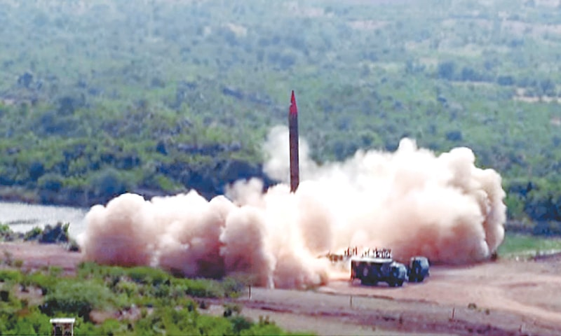 Army conducts training launch of Ghauri missile