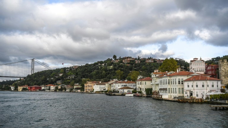 Istanbul's waterside mansions along the Bosphorus are among its most iconic sights. ─ AFP
