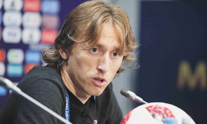 Luka Modric who along with Kylian Mbappe is in the running for the Ballon d'Or award. — File Photo