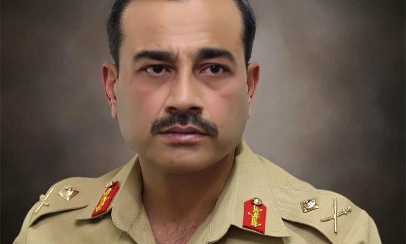 Lt Gen Asim Munir. ─ Photo courtesy ISPR