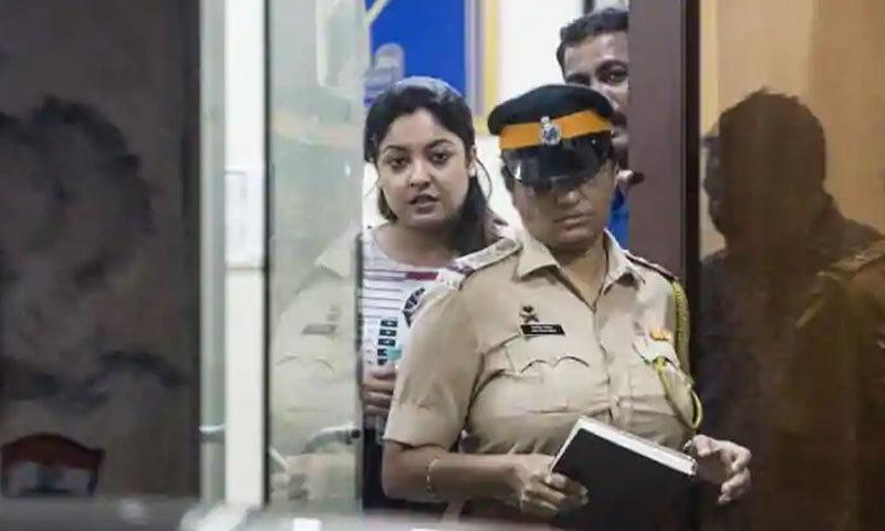 تنوشری دتہ نے 2008 میں شوٹنگ کے دوران ہراساں کرنے والے افراد کے خلاف مقدمہ درج کروایا—فوٹو: ہندوستان ٹائمز