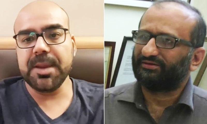 جنید اکرم اور فیصل ایدھی نے الزامات کو جھوٹا قرار دے دیا—فوٹو: فیس بک