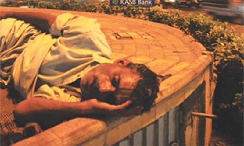Homeless in Karachi