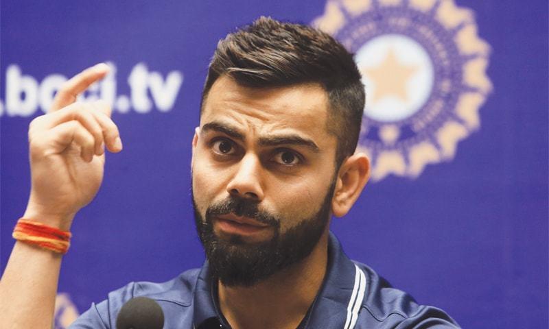 Kohli Comes Out Swinging Over Test Balls Newspaper Dawn Com