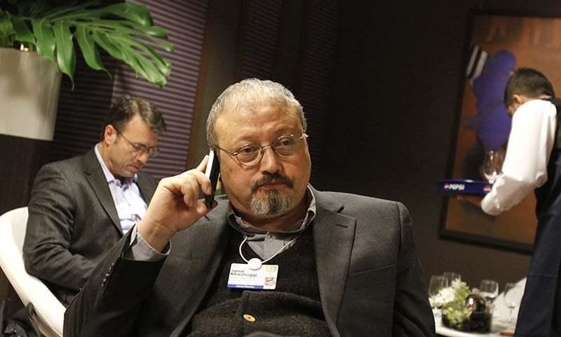 "Saudi crown prince ordered an operation to ""lure"" Jamal Khashoggi back  home, claims The Washington Post. — Photo/File"