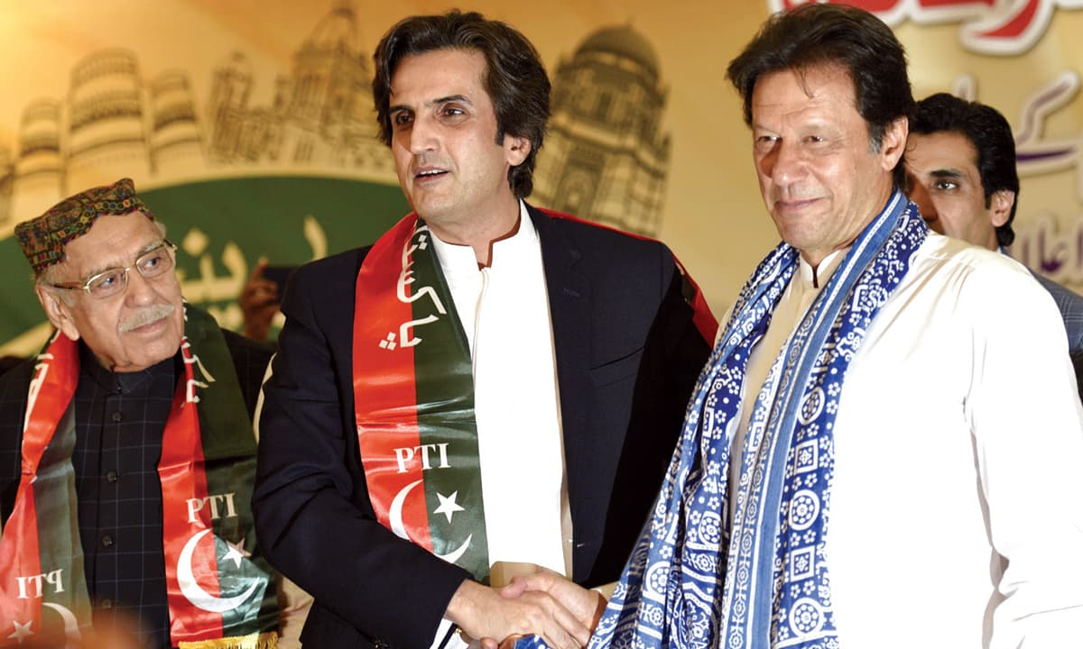 Khusro Bakhtiar joining hands with Imran Khan in May this year | Tanveer Shahzad, White Star