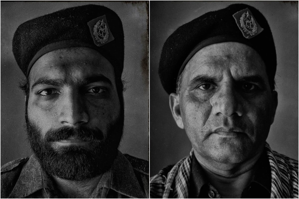 Prisoner Z's guards, Abubakar and Sarfraz — Photo: JPP