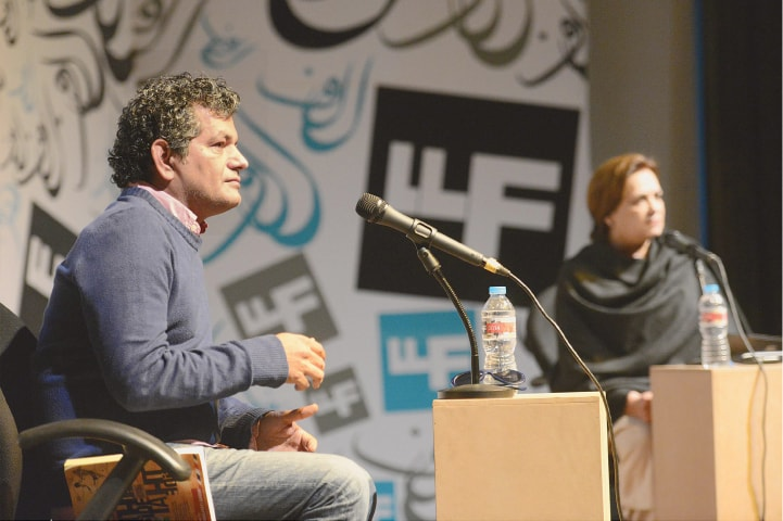 Mohammed Hanif at the Lahore Literature Festival| File photo by Tariq Mahmood / White Star