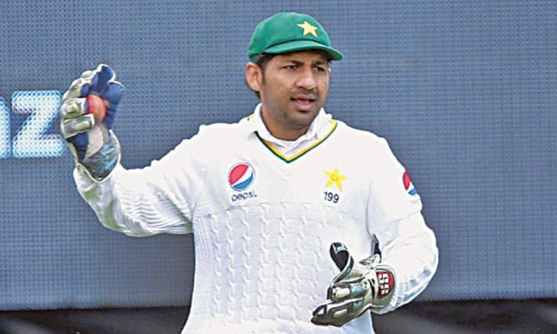 Sarfraz Ahmed faces some searching questions to answer for the second Test against Australia. — Photo/File