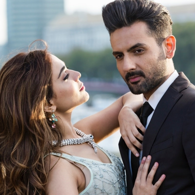 Mohib Mirza with Arth 2 co-star, Humaima Malick