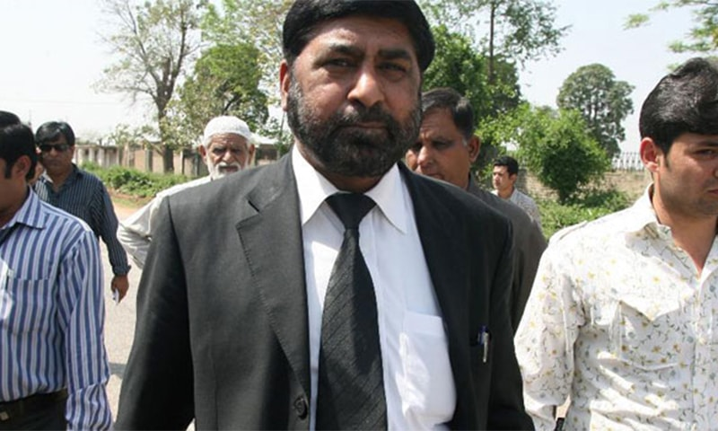 Chaudhry Zulfikar was the lead prosecutor in the Benazir Bhutto murder case when he was killed in May 2013. ─ AFP/File
