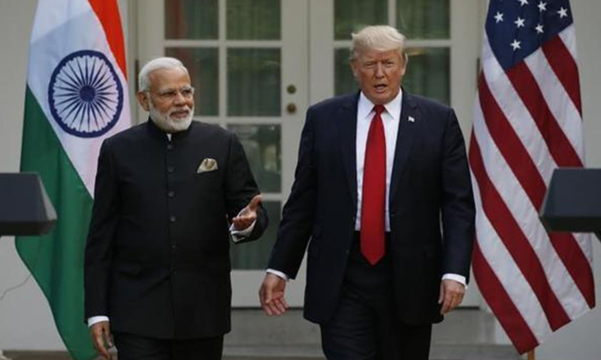 Narendra Modi and Donald Trump were all praises for each other during a meeting in Washington DC in June, 2018 | Reuters