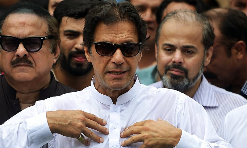 Imran unhappy over by-election results