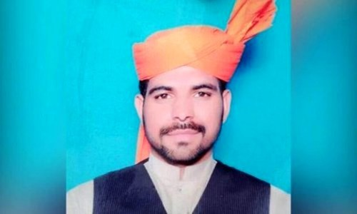24-year-old Imran Ali was hanged for the rape and murder of six-year-old Zainab Amin in Kasur. ─ File photo