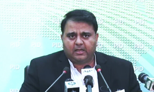 "Minister for Information and Broadcasting Fawad Chaudhry on Tuesday said that the government has decided to carry out an audit of power plants established by the previous government in order to fix responsibility of ""wrongdoings"" in them, Radio Pakistan reported. — DawnNews TV"