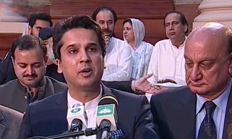 پنجاب اسمبلی میں مالی سال 2018-19 کا بجٹ پیش کردیا گیا — فوٹو: ڈان نیوز