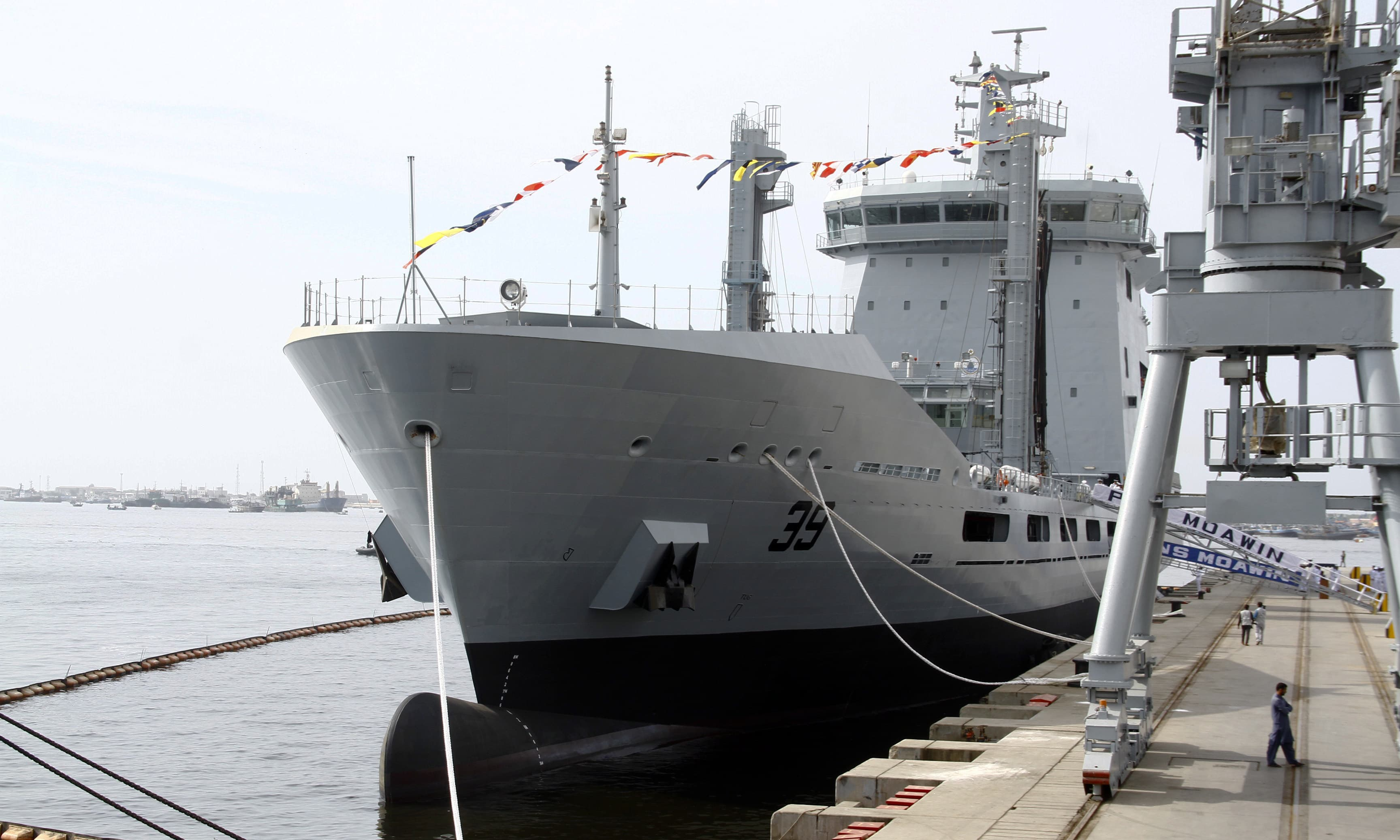 Navy commissions indigenously built 17,000-tonne fleet tanker