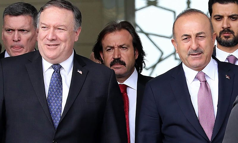 Pompeo suggests US may lift Turkey sanctions linked to pastor