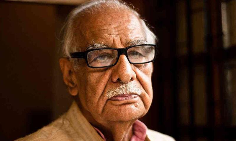 Indian journalist Kuldip Nayar.—Jaskirat Singh Bawa/Flickr