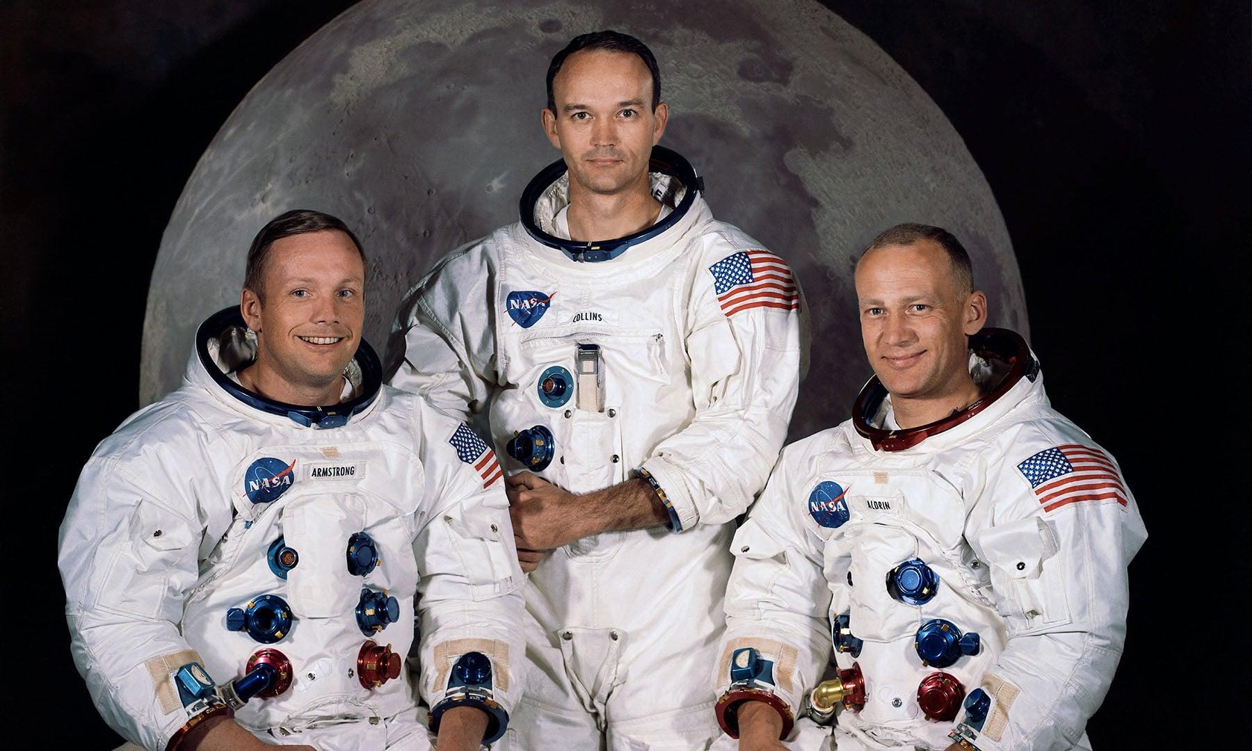چاند پر بھیجے جانے والی 'ناسا' کی 3 رکنی خلابازوں کی ٹیم