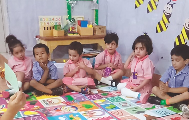 Early childhood education involves use of colourful pictures, story-telling and toys  | Photos by the writer