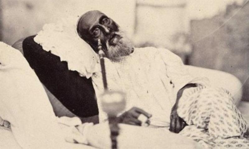 بہادر شاہ ظفر کی ایک نایاب تصویر—تصویر بشکریہ برٹش لائبریری