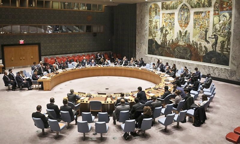 The United Nations Security Council convene a meeting on the humanitarian situation in Yemen, Tuesday Oct 23, 2018 at UN headquarters. —AP