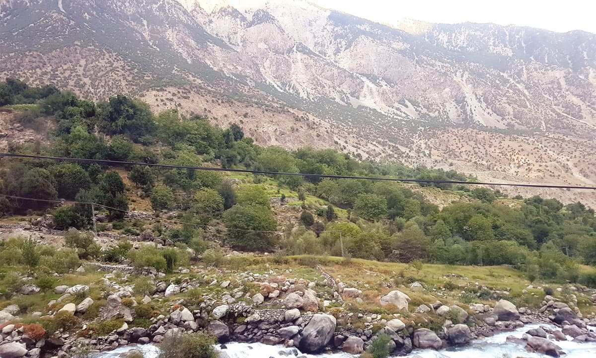 A view of Tangir valley