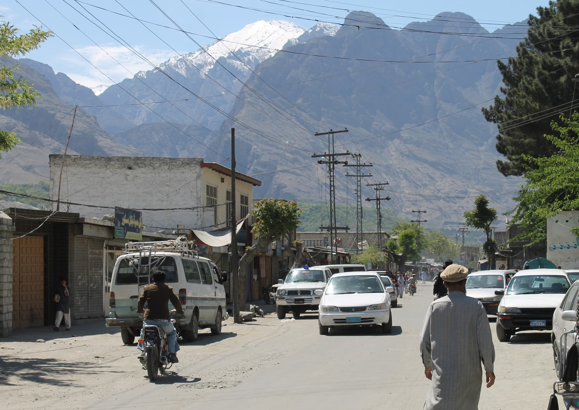 A view of Gilgit city