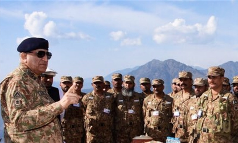 'Kashmir remains the core unresolved agenda,' army chief says during visit to LoC
