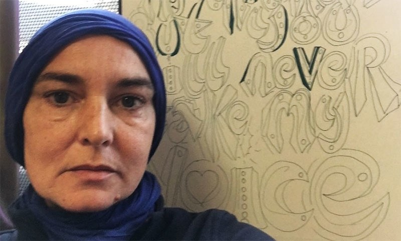 The 51-year-old has been posting selfies of herself wearing hijabs on Twitter in recent days. — Twitter