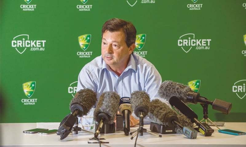 Cricket Australia Chairman David Peever. — File Photo
