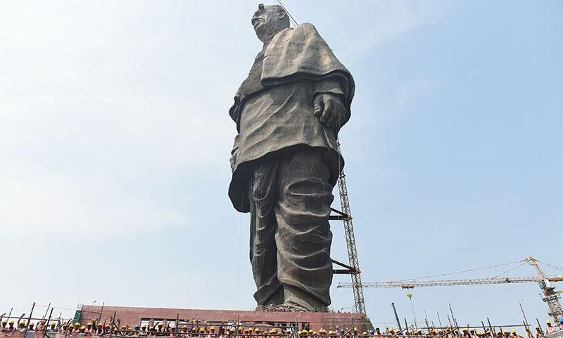 Protests greet world's biggest statue in remote corner of India