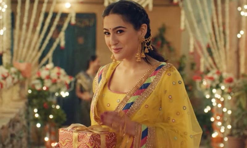 افواہیں ختم 'کیدر ناتھ' میں سارہ علی خان اور سشانت سنگھ کا رومانس سامنے آگیا