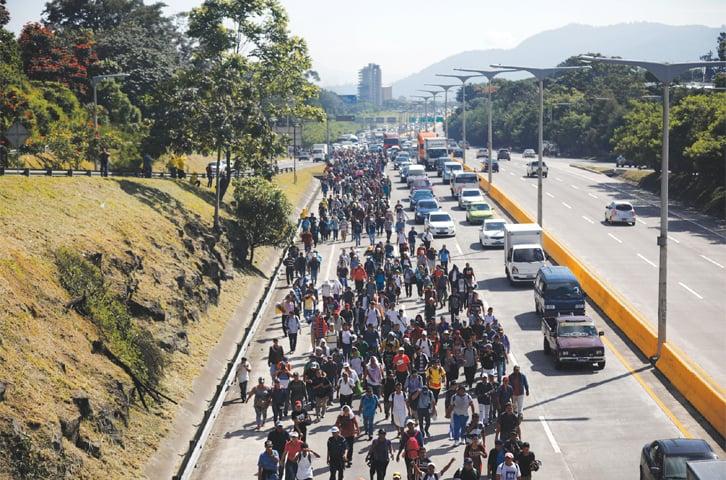 New migrant caravan departs for US